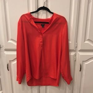 JCrew Red Top